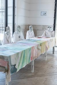 Jade Fourès - Varnier & Vincent de Hoym. Barese Banquet / La famille, 2019